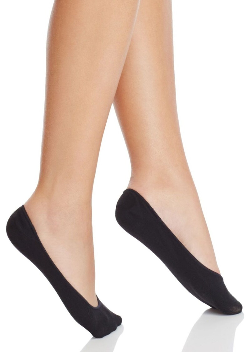 HUE Classic Silicone Edge Liner Socks