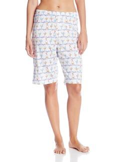 HUE Sleepwear Women's Happy Hour Bermuda