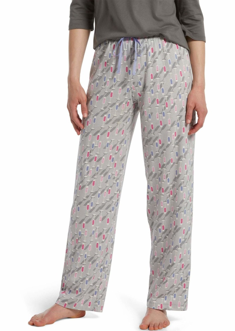 HUE Sleepwear Women's Long Pajama Sleep Pant  Extra Large