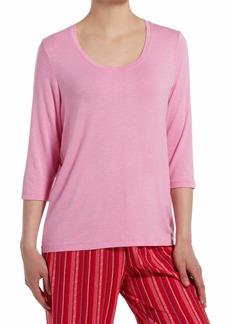 HUE Sleepwear Women's Fashion Sleepwear Pajama Tops  Extra Large
