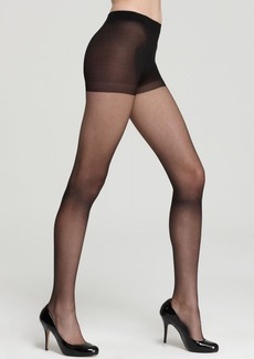 HUE So Silky Sheer Control Top Tights