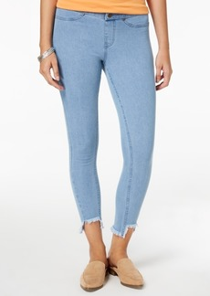 Hue Women's Step-Hem Original Denim Skimmer Leggings, Created for Macy's