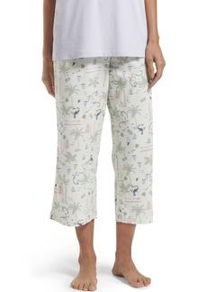 Hue Surf land Capri Pajama Pant