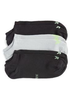 Hue Theracom Assorted 3-Pack CBD No-Show Socks