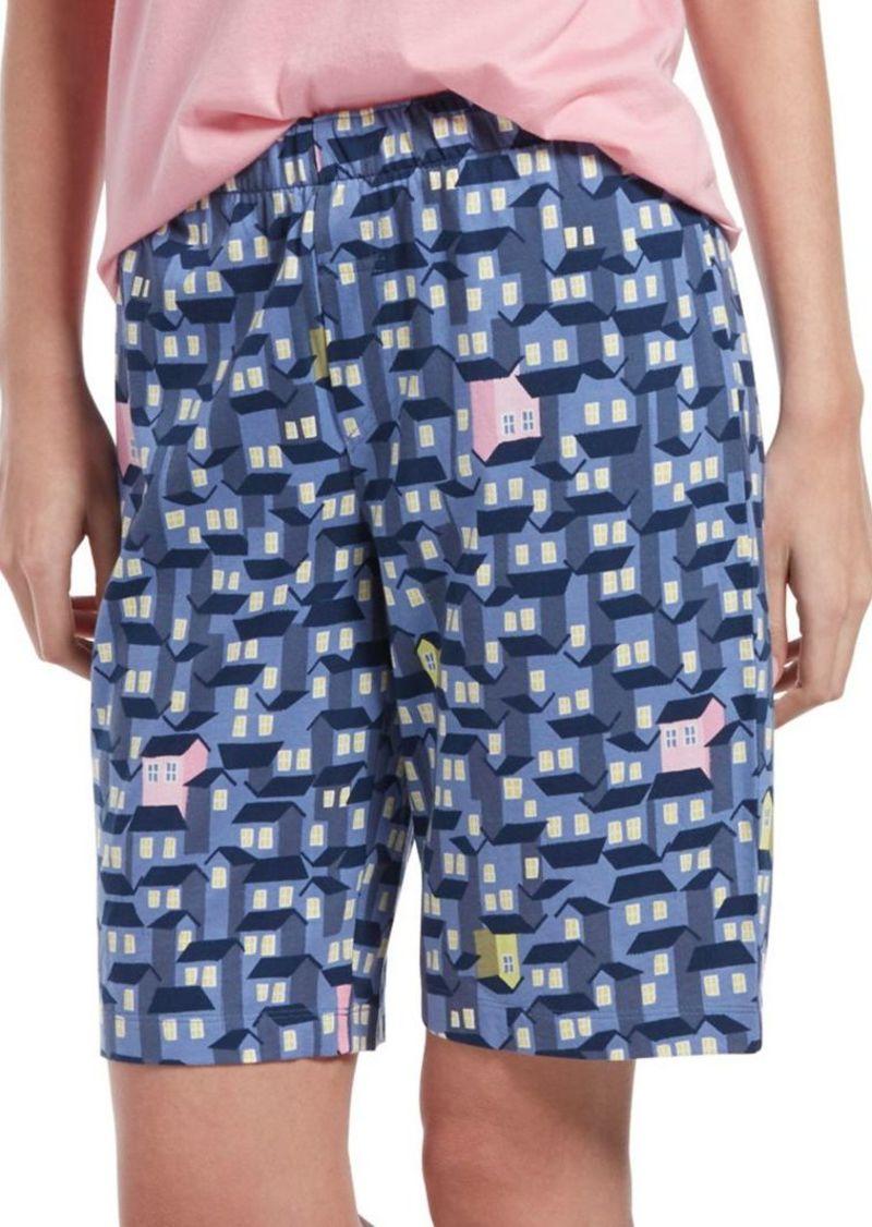 71508e711ffe SALE! Hue Hue Plus Ticky Tack Houses Bermuda Sleep Shorts