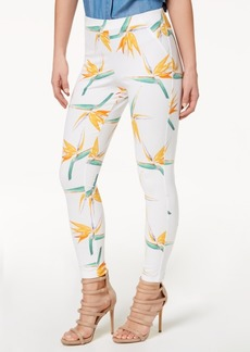 Hue Women's Tropical Floral Simply Stretch Skimmer Leggings