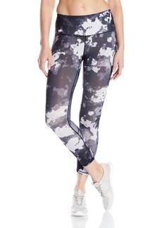 HUE Women's Women's Active Blur Print Capri Leggings