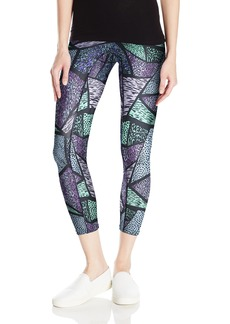 HUE Women's Active Shaping Skimmer Leggings  M