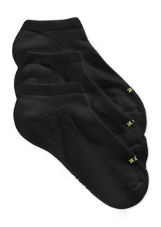 Hue Women's Air Cushion No Show 3 Pack Socks