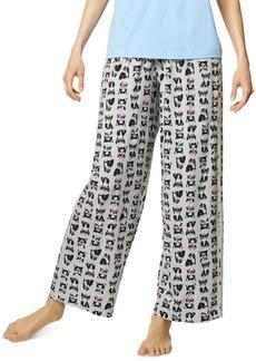 Hue Women's Cotton Frenchiez Pajama Pants