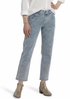HUE Women's Denim Cropped Straight Leg Skimmer  Extra Large