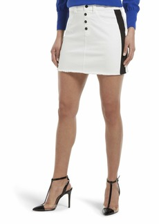 HUE Women's Denim Jean Skirt  Extra Small