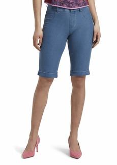 HUE Women's Essential Denim Boyfriend Shorts  Wsh