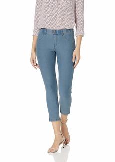 HUE Women's Essential Denim Jean Capri Leggings Assorted  S