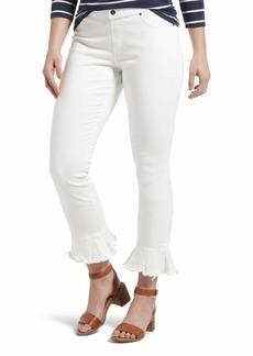 HUE Women's Fashion Denim Jean Skimmer Leggings  L