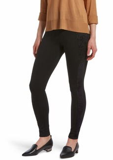 HUE Women's Fashion Ponte Leggings black