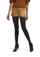 HUE Women's Fashion Tights with Non Control Top Assorted  M/L