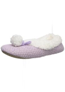 HUE Women's Fluff Slipper Shue   (Shoe Size 5/6)