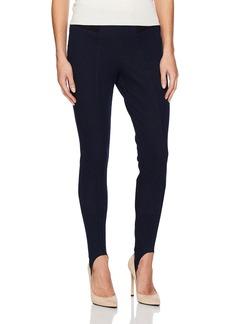 HUE Women's Hi-Waist Denim Stirrup Leggings  Extra Small