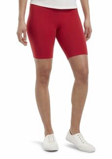 HUE Women's High Waist Blackout Cotton Bike Shorts Assorted  XL
