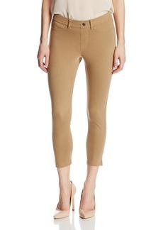 HUE Women's Khaki Capri Leggings