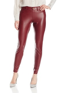 HUE Women's Leatherette Leggings  M