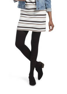 HUE Women's Made to Move Shaping Tights Assorted chevron/black