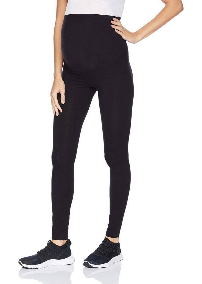 HUE Women's Maternity Cotton Legging black L