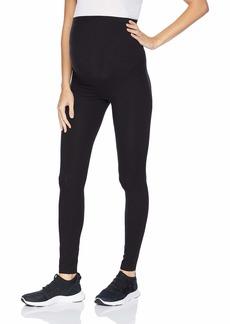 HUE Women's Maternity Cotton Legging black S