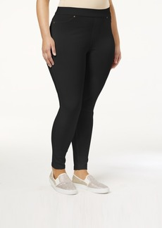 Hue Plus Size Original Denim Leggings, Created for Macy's