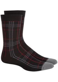 Hue Women's Plaid Crew Socks
