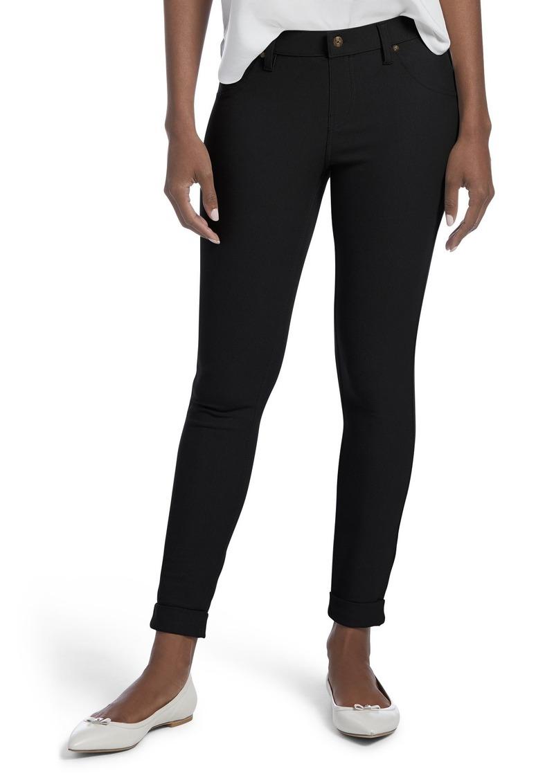 4f6f9d85404b Hue HUE Women s Plus Size Essential Denim Skimmer Leggings