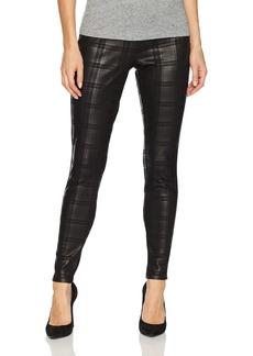 HUE Women's Plus Size Plaid Foil Leggings  1X