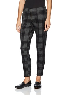 HUE Women's Plus Size Plaid Loafer Skimmer Leggings