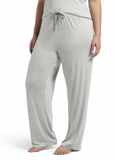 HUE Women's Plus Size SleepWell with TempTech Pajama Sleep Pant  3X