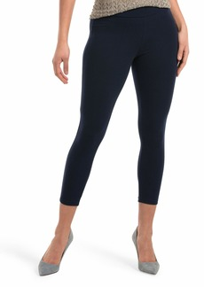 HUE Women's Wide Waistband Blackout Cotton Capri Leggings Assorted  S