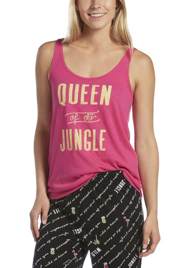 HUE Women's Queen of The Jungle Sleep Tank
