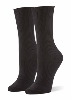 HUE Women's Relaxed Top Sock 3 Pair Pack