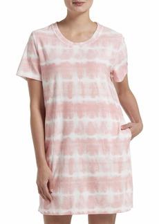 HUE Women's Short Sleeve Sleepshirt