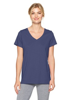 HUE Women's Short Sleeve V-Neck Sleep Tee  Extra Large