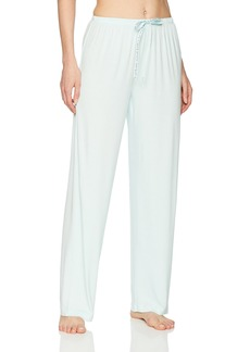 HUE Women's SleepWell with TempTech Pajama Sleep Pant Soothing sea Extra Large