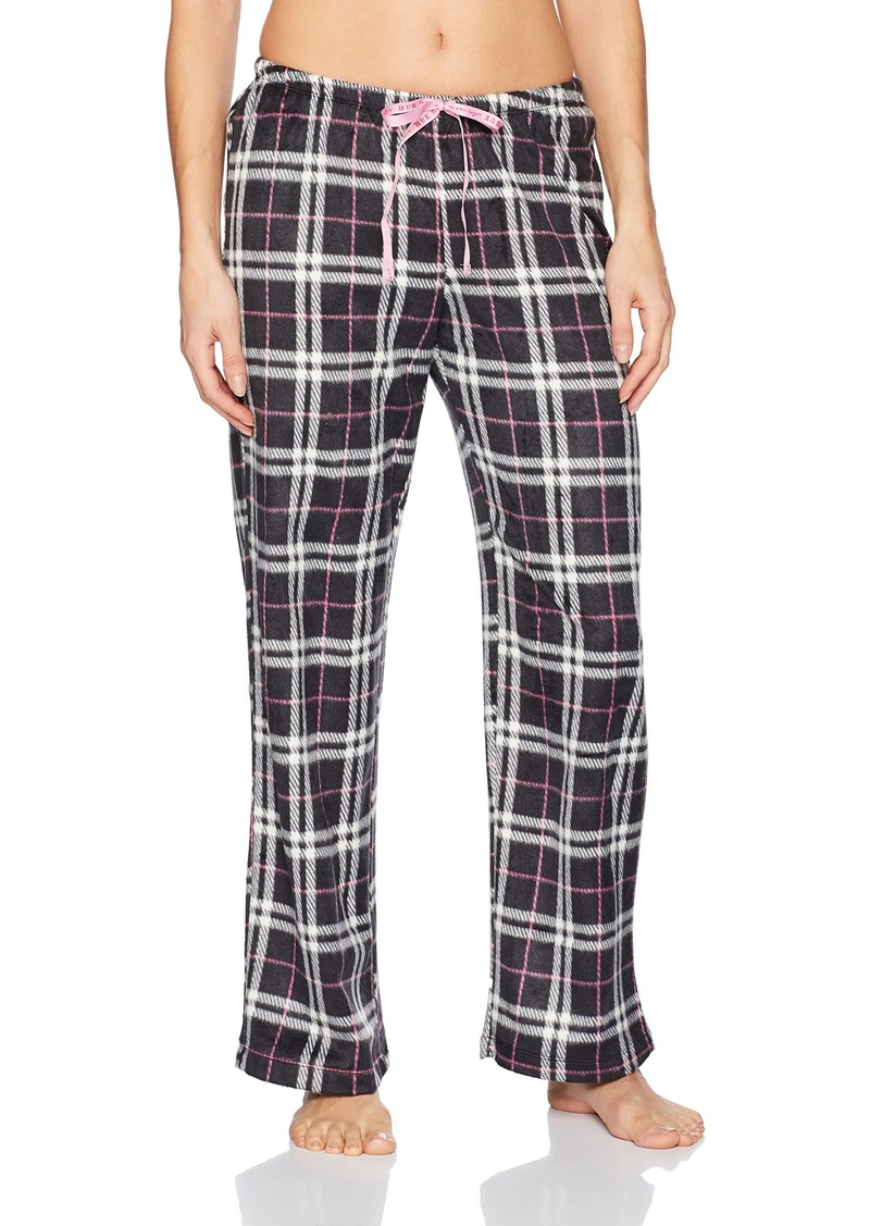 HUE Women's Snuggly Plaid Pajama Pant