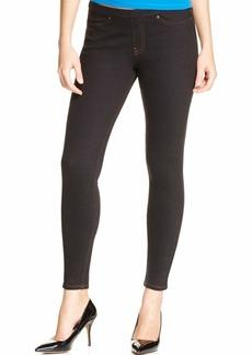 HUE Women's Solid Color Original Jeanz Denim Legging black