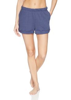 HUE Women's Solid Knit Lounge Sleep Shorts