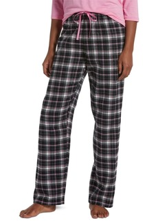 Hue Women's Sparkling Plaid Pajama Pants