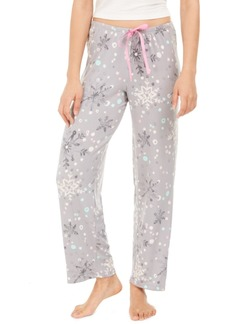 Hue Women's Striped Snuggle Buddies Pajama Pants, Online Only