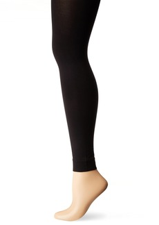 HUE Women's Styletech out Footless Tights black