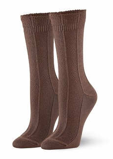 HUE Women's Supersoft Casual Boot Sock
