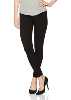 HUE Women's Ultra Skimmer Leggings with Wide Waistband  S