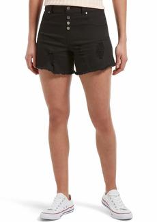 HUE Women's Ultra Soft Denim High Waist Shorts  Extra Large